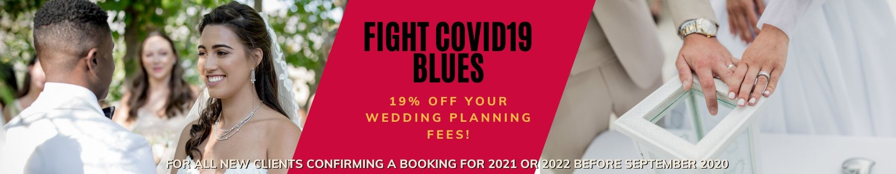 Special wedding deals 2021