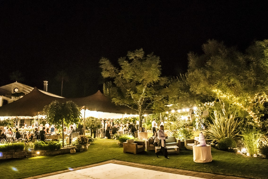 Wedding lighting Marbella