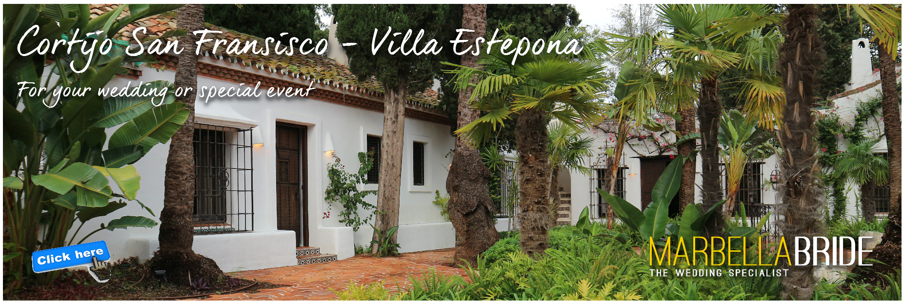 Marbella Villa wedding venue